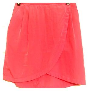 H&M Coral Sheath Skirt